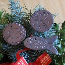 Vianočné ozdoby kovové
